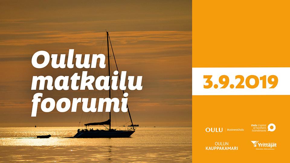 Oulun Matkailufoorumin mainoskuva