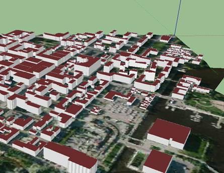 Oulun 3D-kaupunkimalli avoimessa datassa