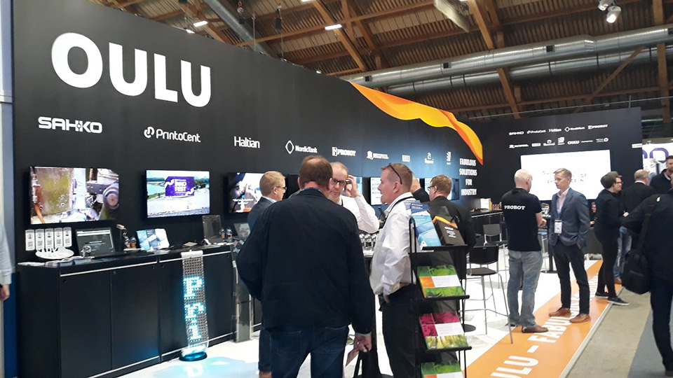 Oulu ja oululaiset yritykset saivat hyvin näkyvyyttä Alihankintamessuilla