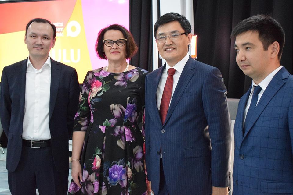 Oulu esittäytyi näkyvästi Astanan maailmannäyttelyn alkuhetkillä