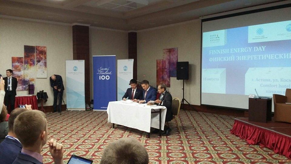 Suomalainen energiaosaaminen esillä Astana Expossa