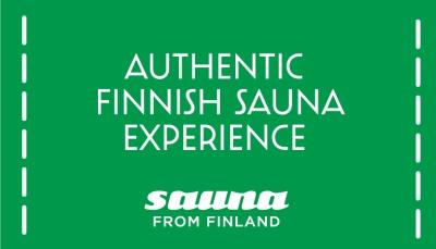 Original Sokos Hotel Arinalle Authentic Finnish Sauna Experience –sertifikaatti
