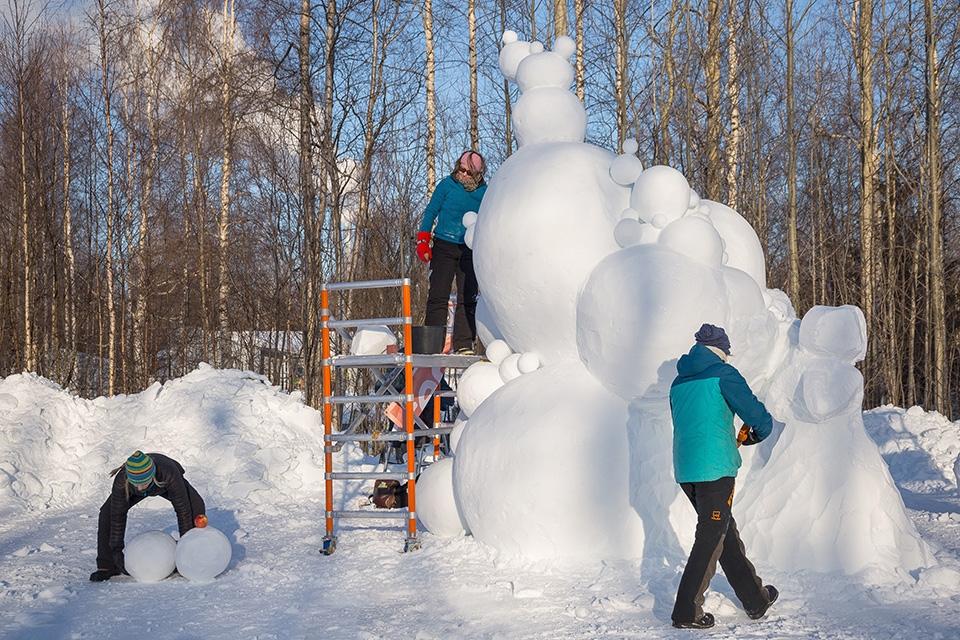 Baltic Snow Call starttaa – lumenveiston kulttuuricocktailia Oulun Nallikariin