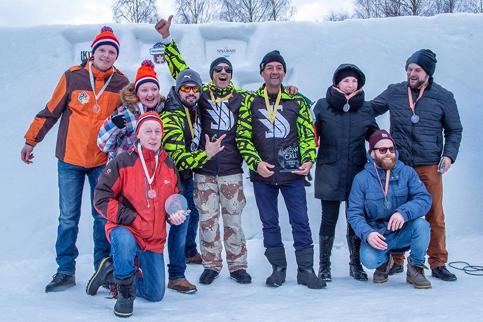 Meksiko voittoon Baltic Snow Callissa