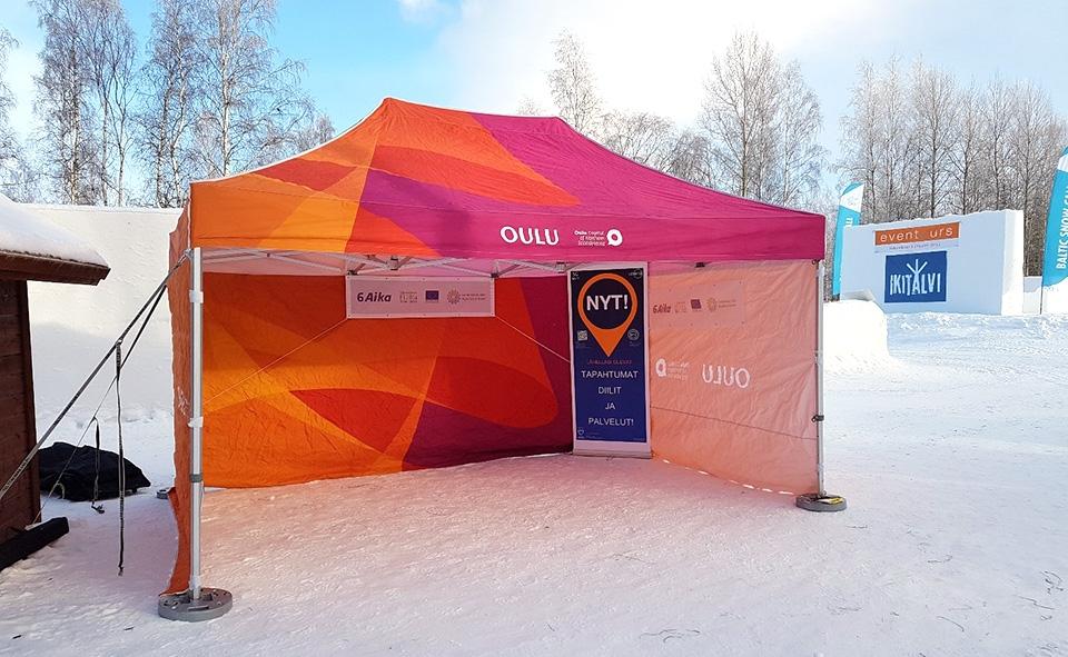 Loisto-palvelualusta näytillä Baltic Snow Callissa