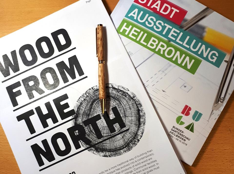 Pohjoissuomalainen puurakentaminen esillä Saksassa