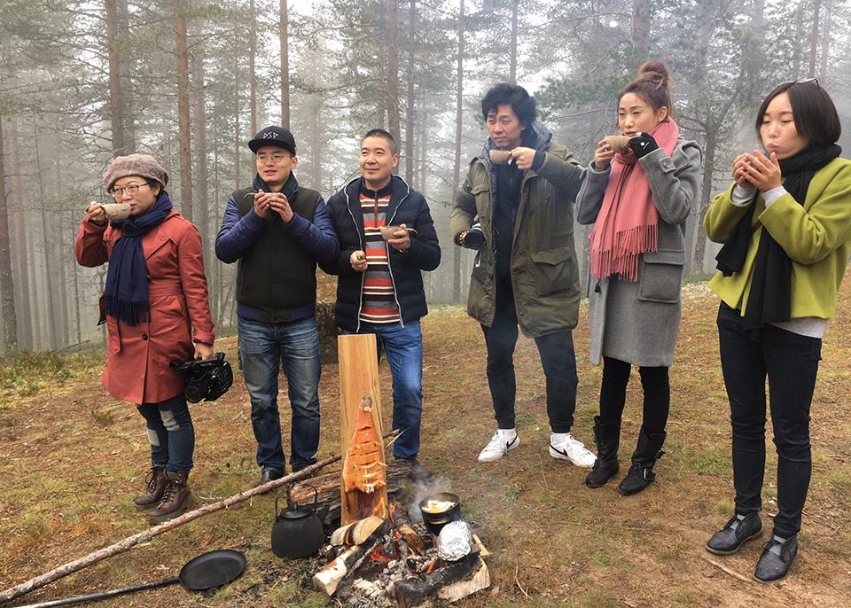 Chongqing Cuisines in Finland - tv-sarjaa kuvattiin Oulussa ja Rokualla