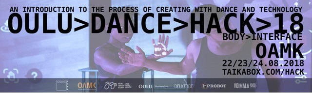 Technology innovations tested in Oulu Dance Hack this Summer