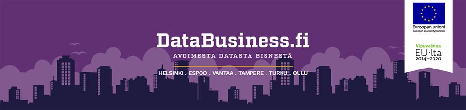 Avoimella datalla liiketoimintaa? DataBusiness Challenge -kilpailusta vauhtia ideointiin