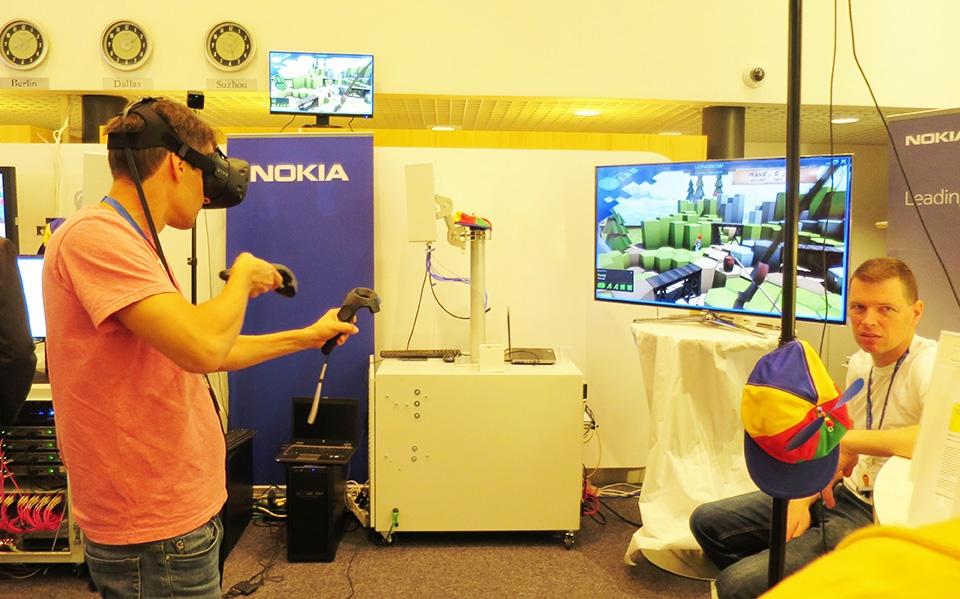 Nokia esitteli 5G linjaansa Ruskon DemoDayssa