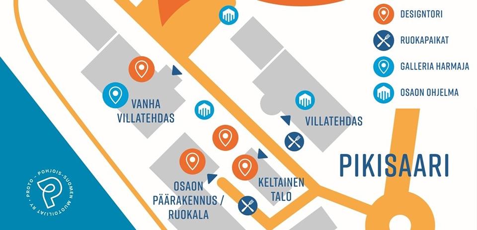 Tapaa tekijät Oulun Designtorilla