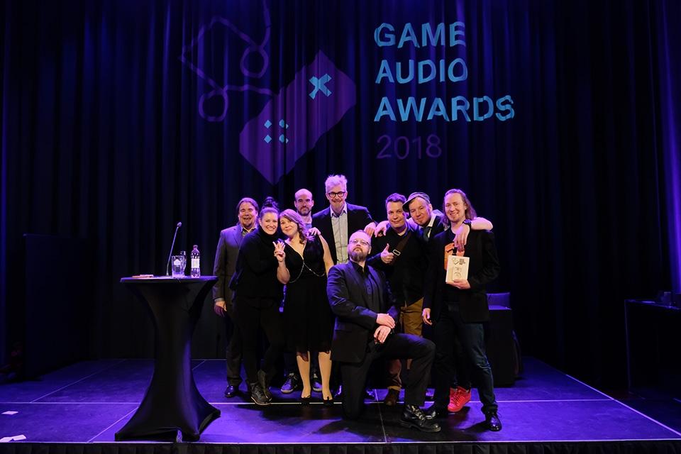 Game Audio Awards 2018 -palkinnot jaettiin Lasaretissa
