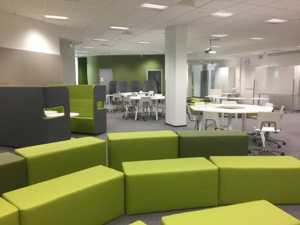Koulutusmatkailun tueksi modernin oppimisympäristön showroom