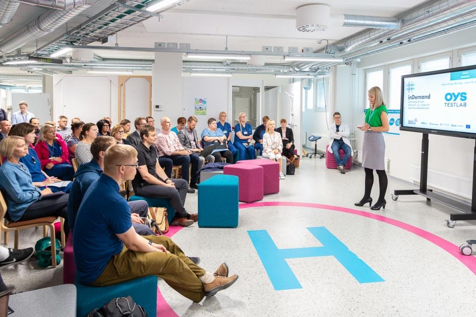 inDemand-hankkeen yhteiskehittäminen käyntiin Oulun yliopistollisessa sairaalassa