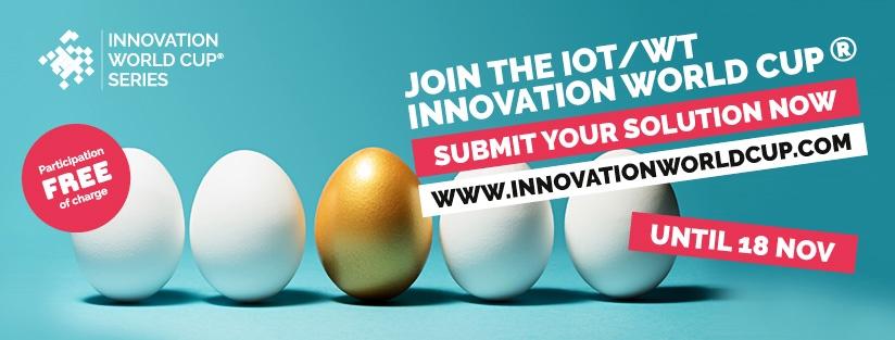 Sinä voit olla seuraava iot/wt innovation world cup menestystarina