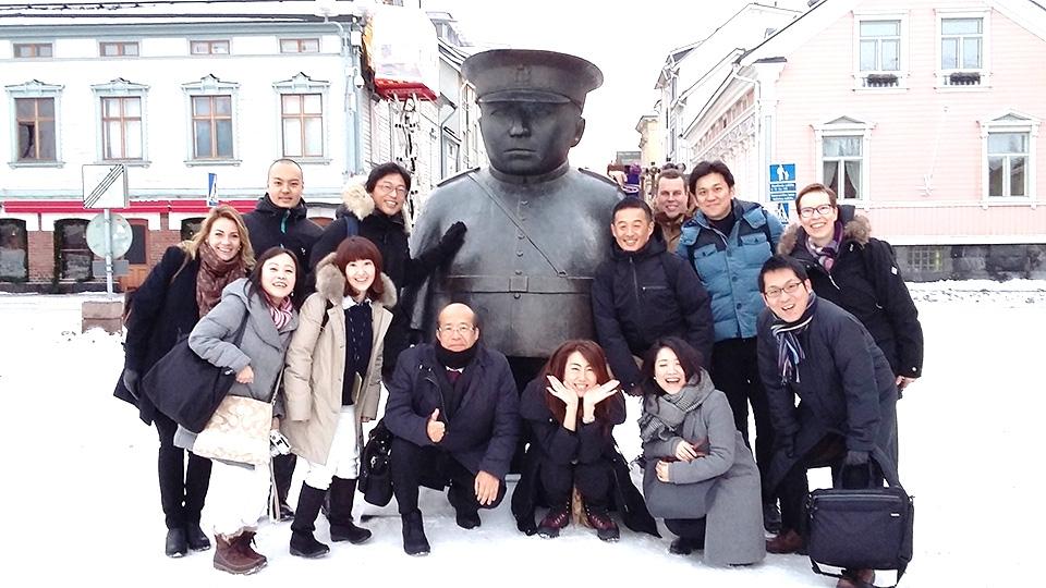 Oulun seutua esitellään japanilaisille ja saksalaisille matkanjärjestäjille