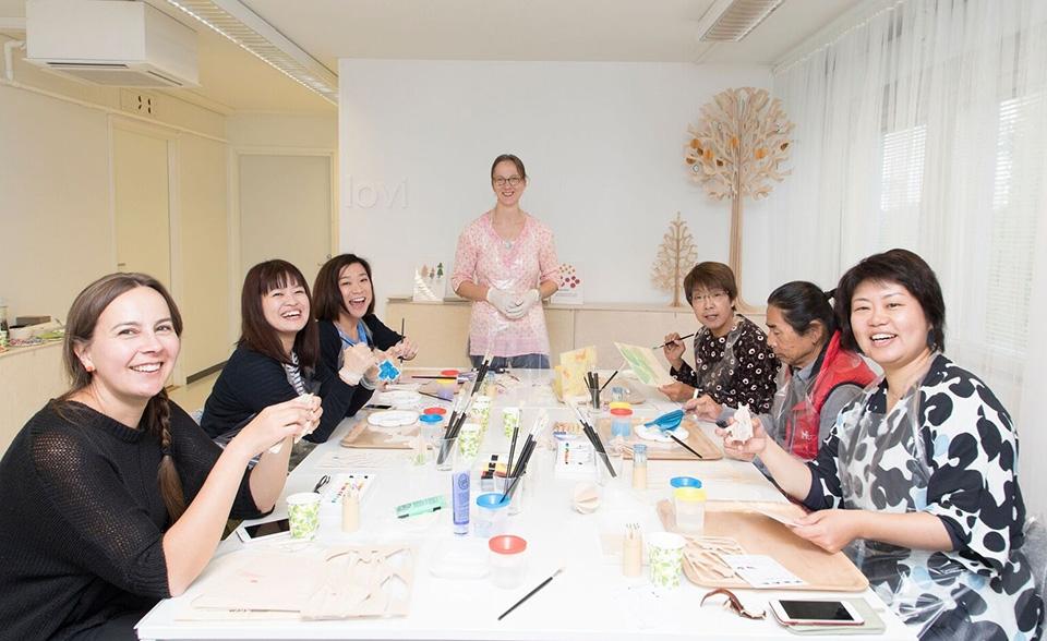 LOVI workshop syntyi japanilaisten toiveesta