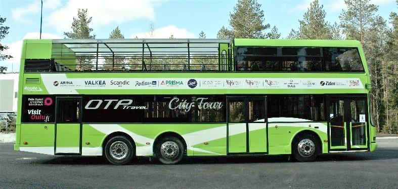 Kaarle-kaksikerrosbussi alkaa kierrättää matkailijoita kesäkuussa