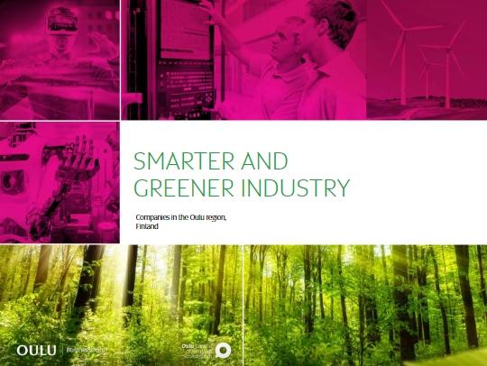 Smarter & Greener Industry Oulu -katalogi on julkaistu