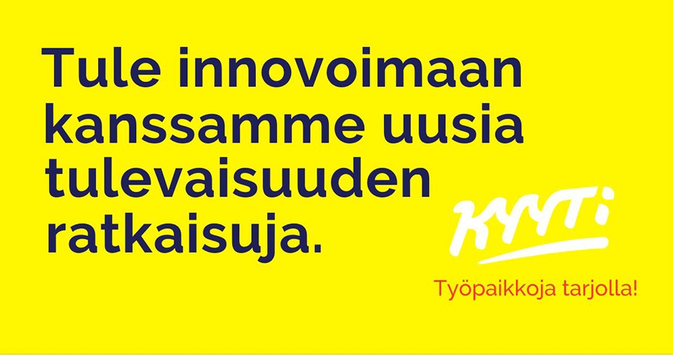 Tule innovoimaan tulevaisuuden ratkaisuja työmatkustamiseen