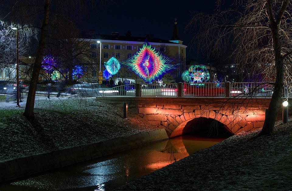 Oulun Lumo-valofestivaalin ohjelmahaku on avattu