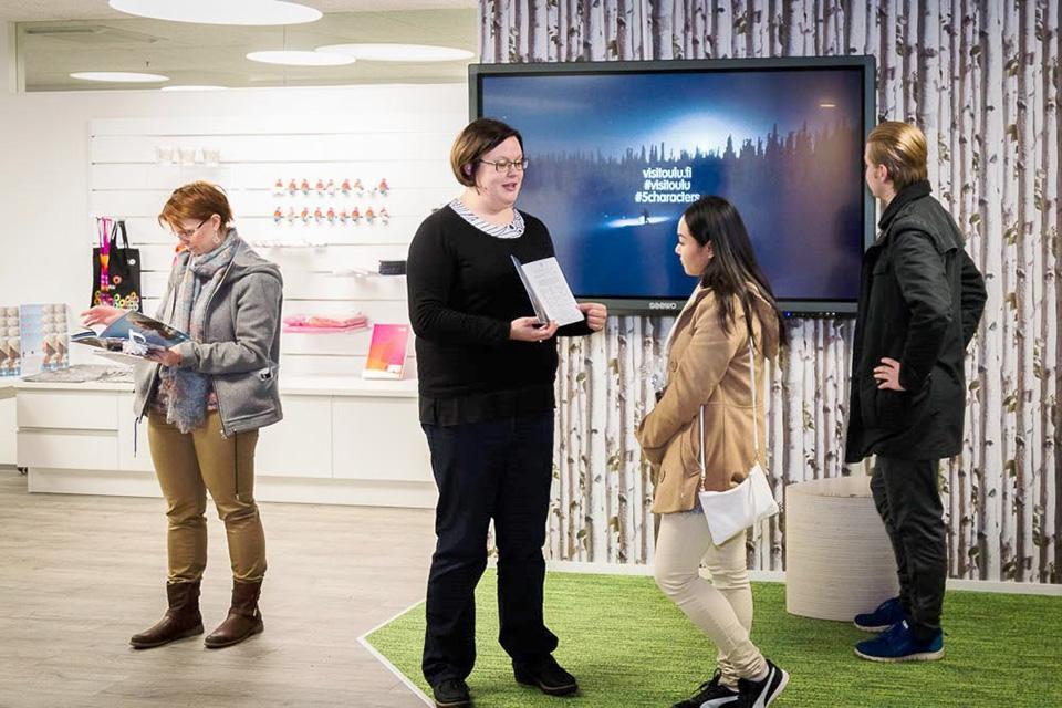 Oulun alueen matkailutuotteet ja -palvelut tulossa myyntiin yhdestä toimipisteestä