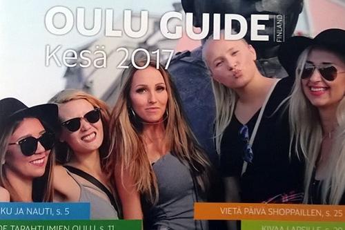OULU GUIDE 2017 -matkailuesite on ilmestynyt