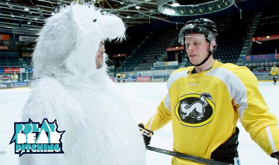 Oulun Kärpät ja Air Guitar mukana Polar Bear Pitchingin finaalissa!