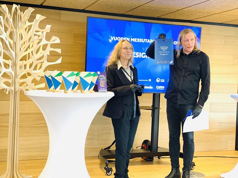 Pohjoisen parhaat tapahtumat saivat palkintonsa virtuaaligaalassa