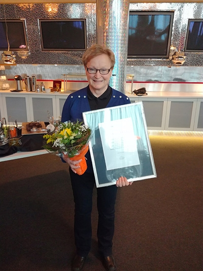 Satavuotias Oulun kauppakamari palkitsi
