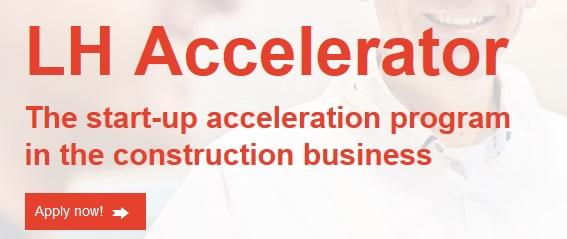 Rakennusteollisuuden startup-toimijoita haetaan kansainväliseen kiihdyttämö-ohjelmaan
