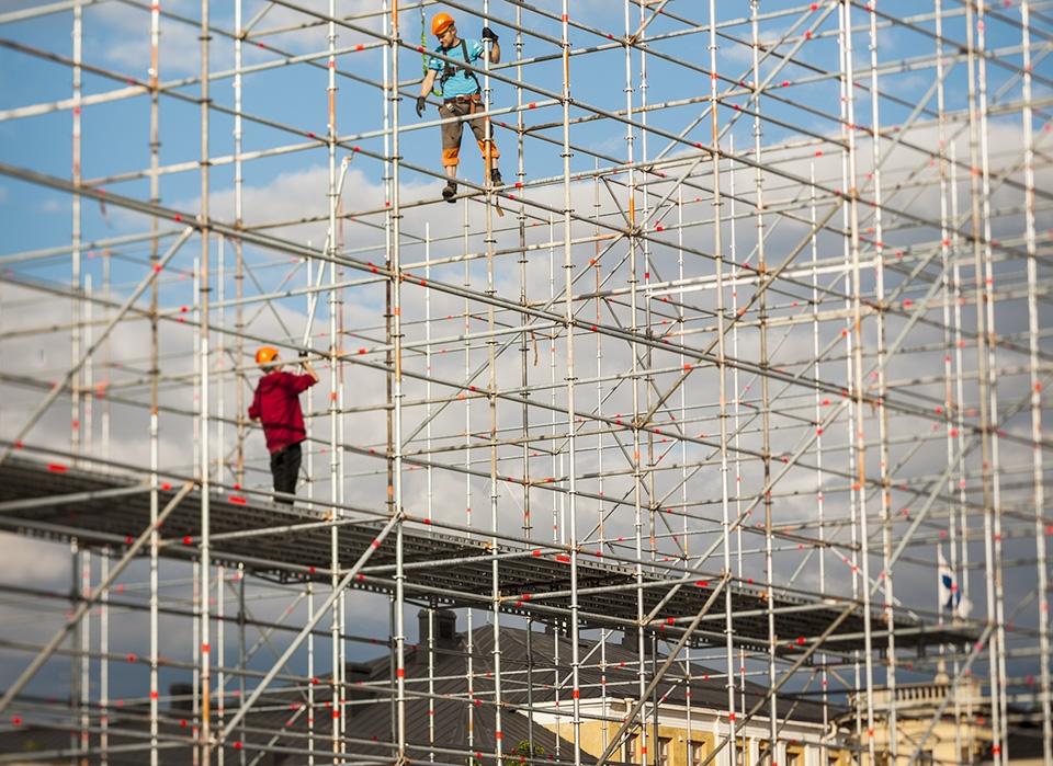 Rakentamisen vauhti jatkuu Oulussa