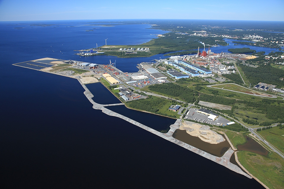 Port of Oulu and Oritkari area logistics opportunities grow