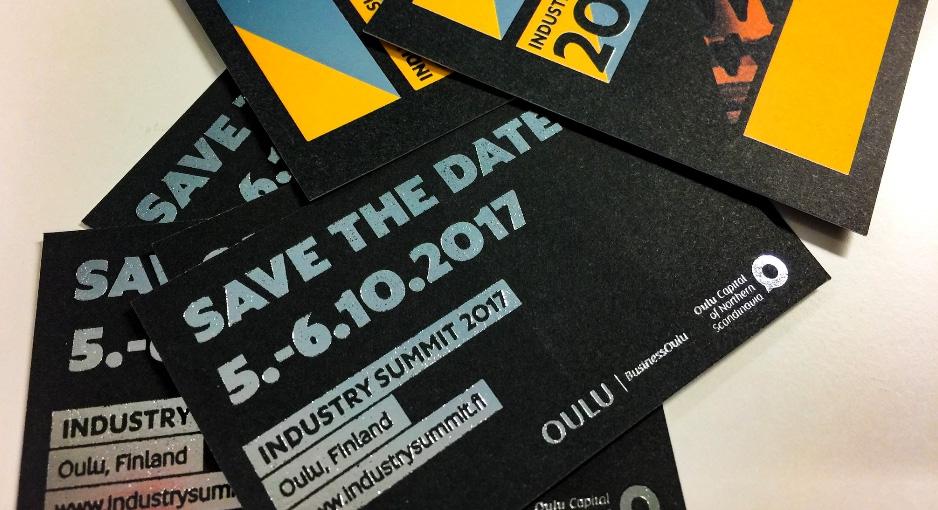 Industry Summit Oulussa lokakuussa – Osta lippusi 22.6. mennessä