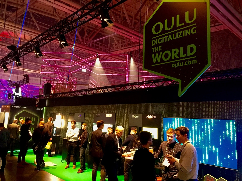 A successful Oulu showcase at Slush 2017