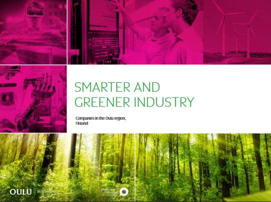 Smarter & Greener Industry Oulu –katalogiin mukaan