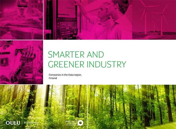 Smarter & Greener Industry Oulu -katalogiin