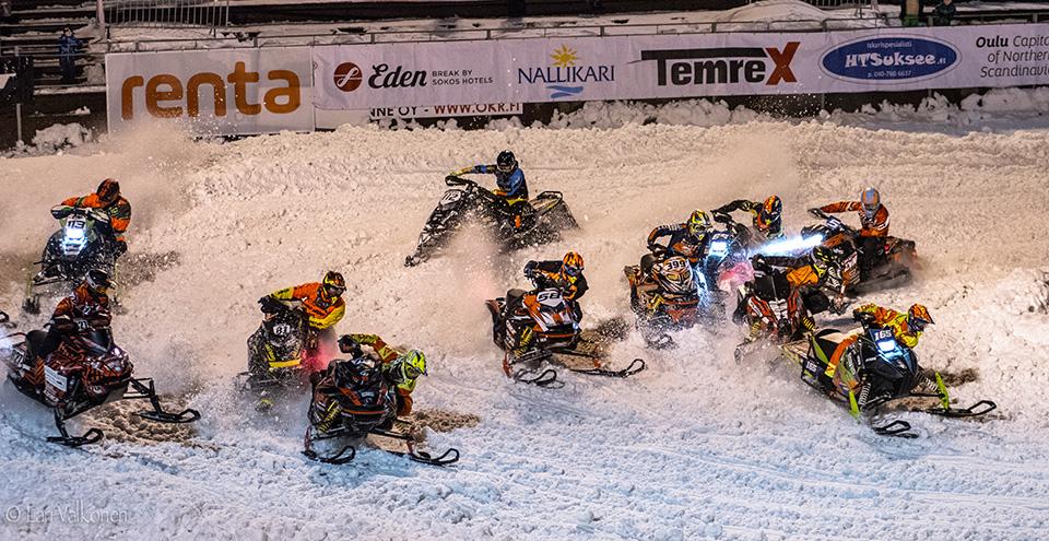 Stadion Snowcross Oulu viidettä kertaa Raksilaan
