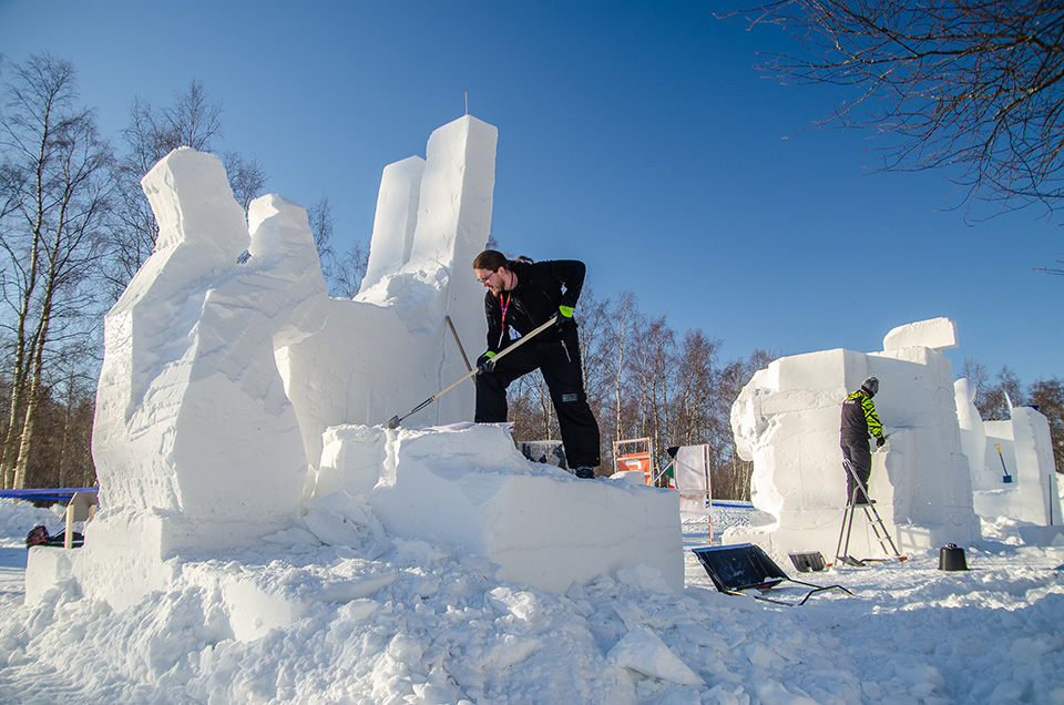 Nallikari Snow Fest is looking for beginner sculptors