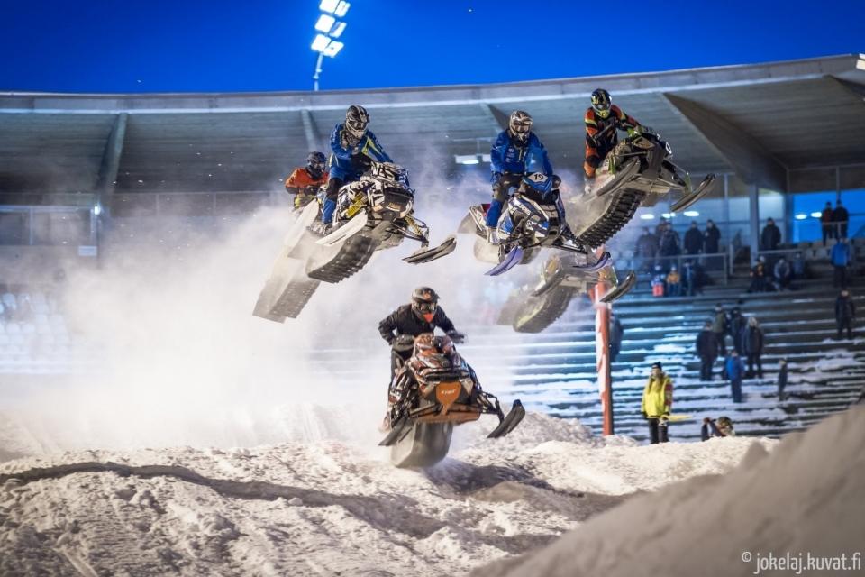 Stadion Snowcross Oulu tulee jälleen