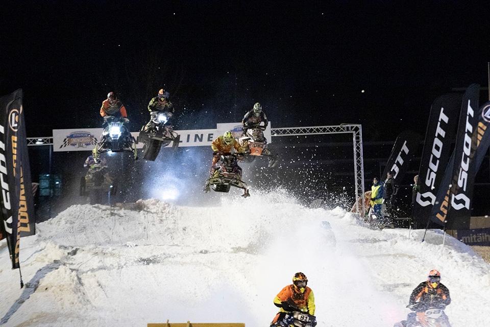 Oulussa jälleen kerran maailmanluokan Stadion Snowcross -kilpailu