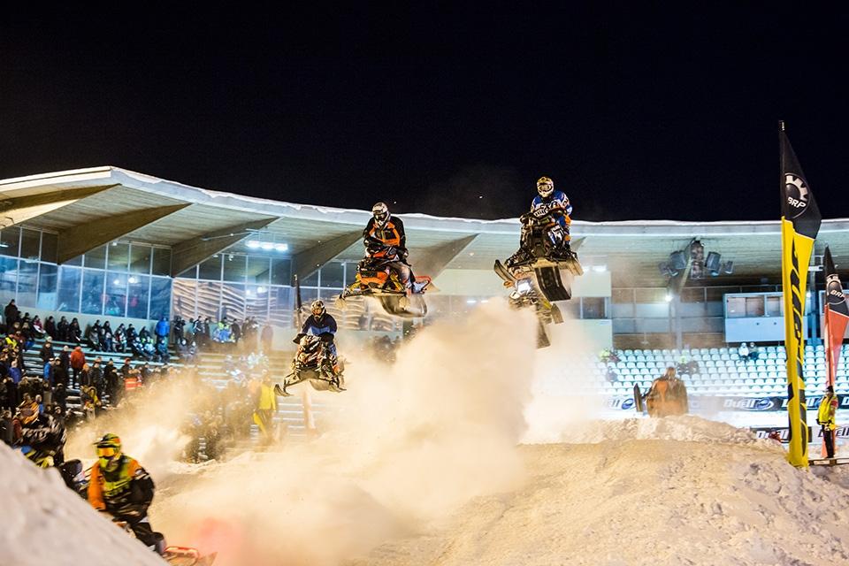 Maailmanluokan snowcrossia Oulussa