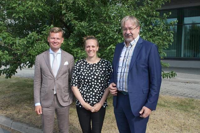 Tuleva suurlähettiläs vieraili Oulussa