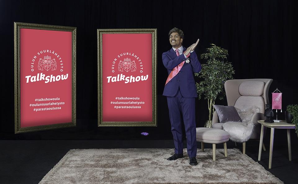 Oululle oma talk show, jota isännöi valovoimainen Oulun suurlähettiläs