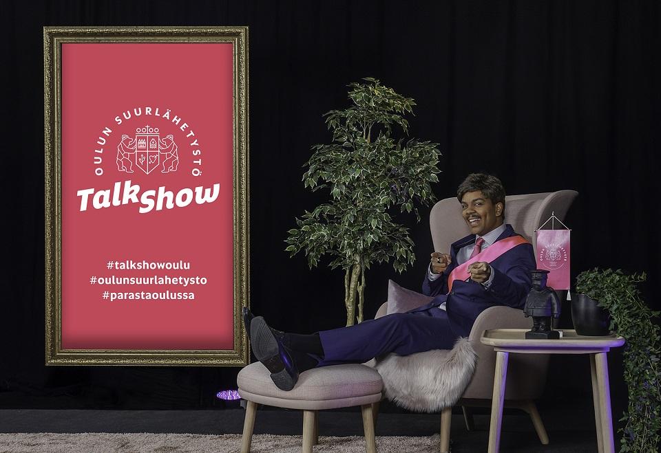 Yrittäjäksi ryhtynyt Kärppä-legenda Lasse Kukkonen kertoo Oulun talk show'ssa uudesta elämästään