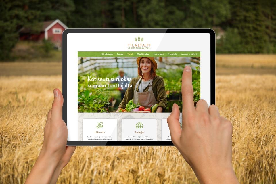 Uusi verkkokauppa helpottaa lähiruuan myyntiä ja ostamista
