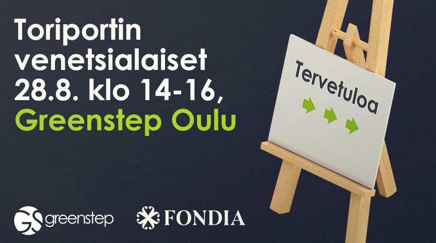 Toriportin venetsialaiset yrityksille 28.8.