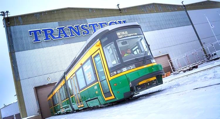 Raide-Jokerin Artic-vaunut ovat Oulun suunnitteluosaamisen huippua