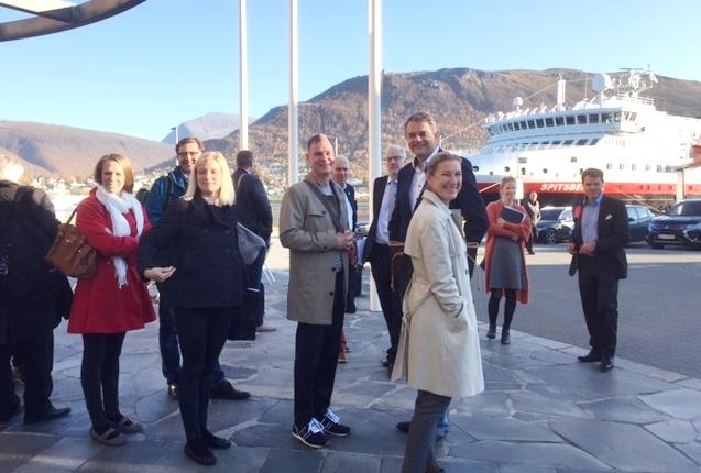 Paljon uusia yhteyksiä syntynyt Tromssaan