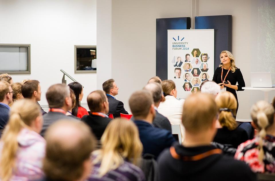 University Business Forumiin saapui yli 300 osallistujaa